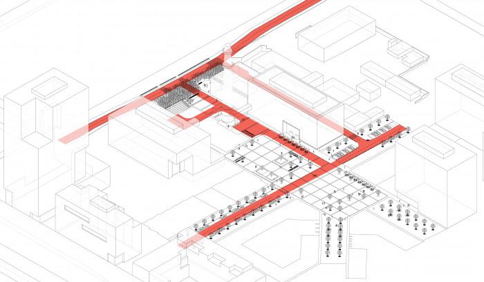 Рух пожежного авто / Event plaza 'UNIT.City'