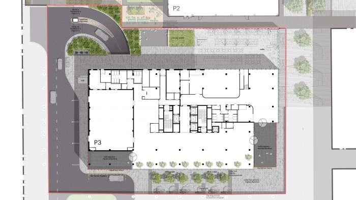 Генеральний план / Бізнес-кампус 'UNIT.City'