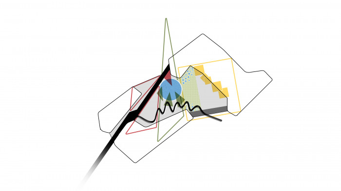 Деталізуємо ідею додаванням нових елементів меншого масштабу / Територія ЖК 'Kandinsky'