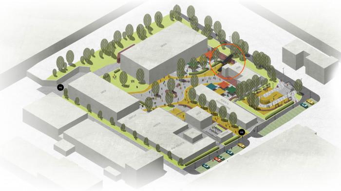 Спочатку влаштуємо сходи у зручному місці / Інноваційний парк 'UNIT.City'