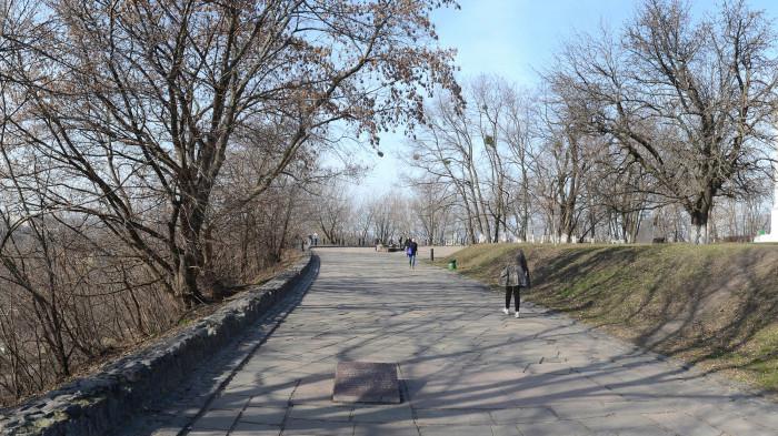 Стан мостіння до реконструкції / Відновлення Старокиївської гори