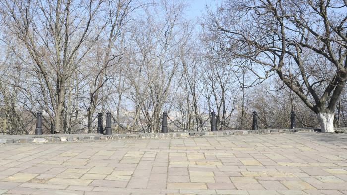 Панорамні види перекриті самосівом / Відновлення Старокиївської гори