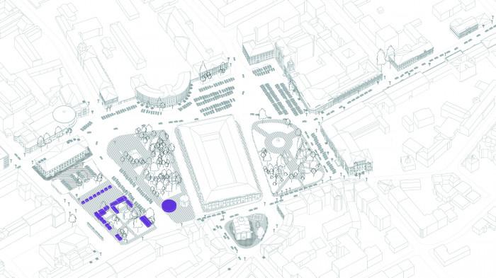 Демонтаж МАФ та звільнення площі від авто / «Нова Контрактова»