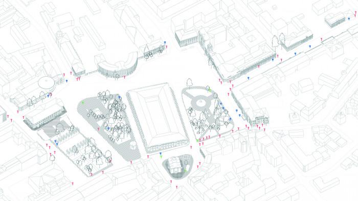 Очистка візуального простору від дорожніх знаків та вивісок / «Нова Контрактова»