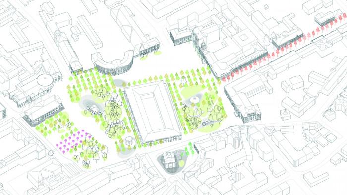 Площа озеленення збільшиться / «Нова Контрактова»