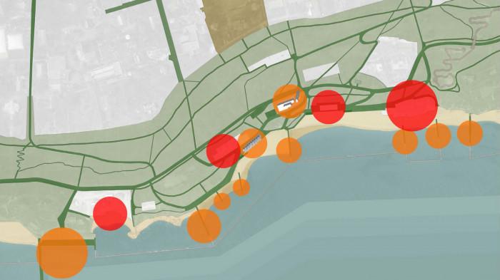 Схема маршрутів / Воркшоп «Одеські схили»