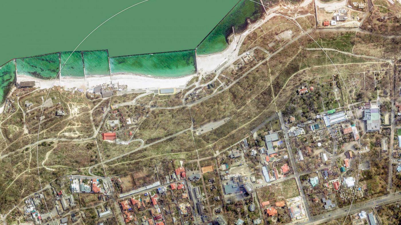 Аерофотозйомка території / Воркшоп «Одеські схили»
