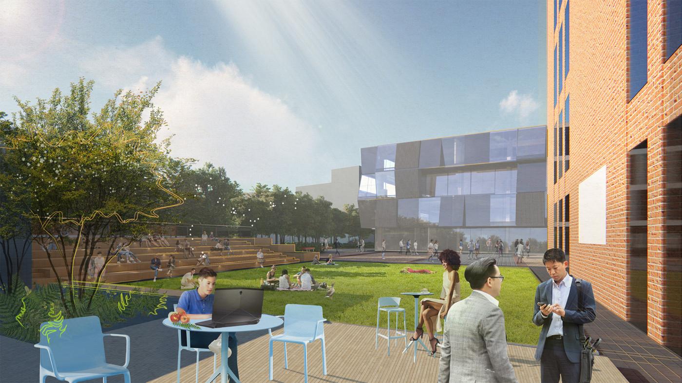 Відкритий аудиторіум / Event plaza 'UNIT.City'