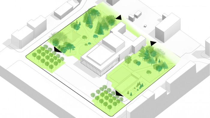 Розширення зелених зон / Театральна площа