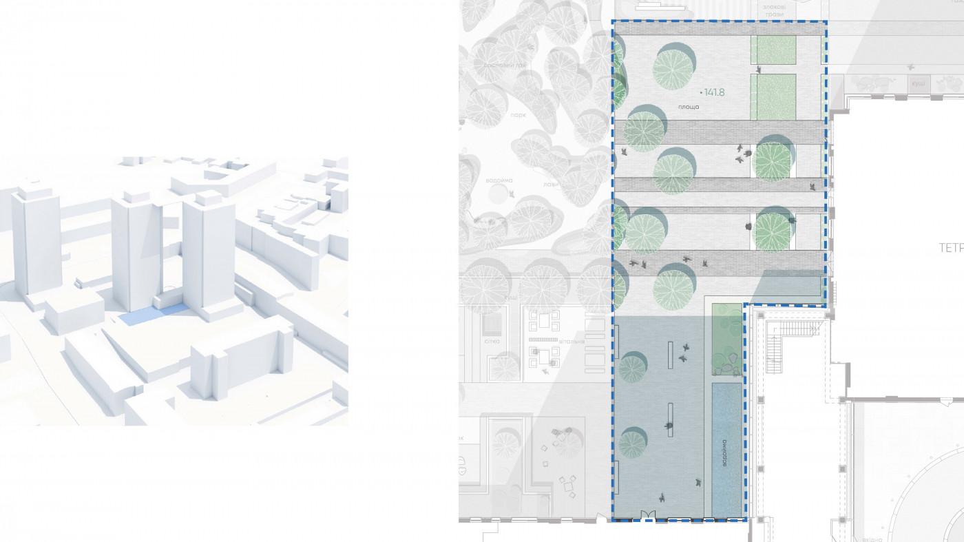 / Residential complex 'Tetris Hall'
