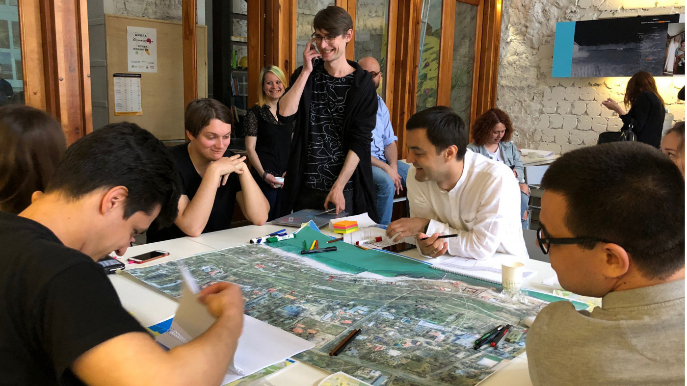 3 команди — 30 учасників — 3 дні (11–13 травня) / Workshop 'Odesa slopes'