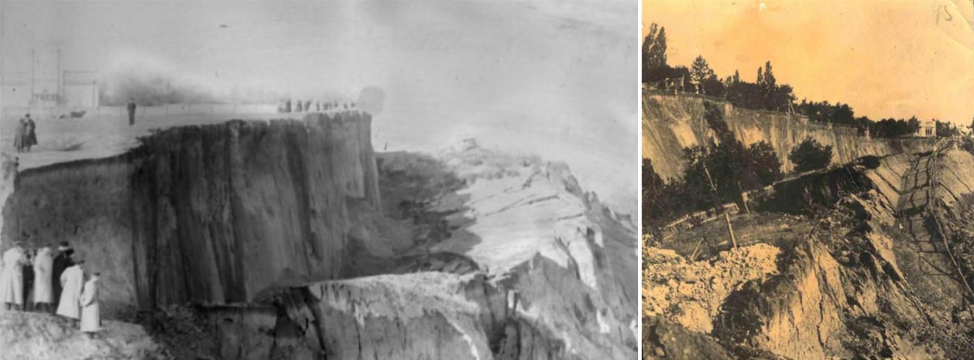 Історичне фото одеських схилів до терасування / Workshop 'Odesa slopes'