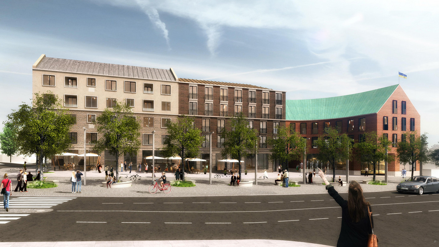 / Development strategy of the Cathedral Street