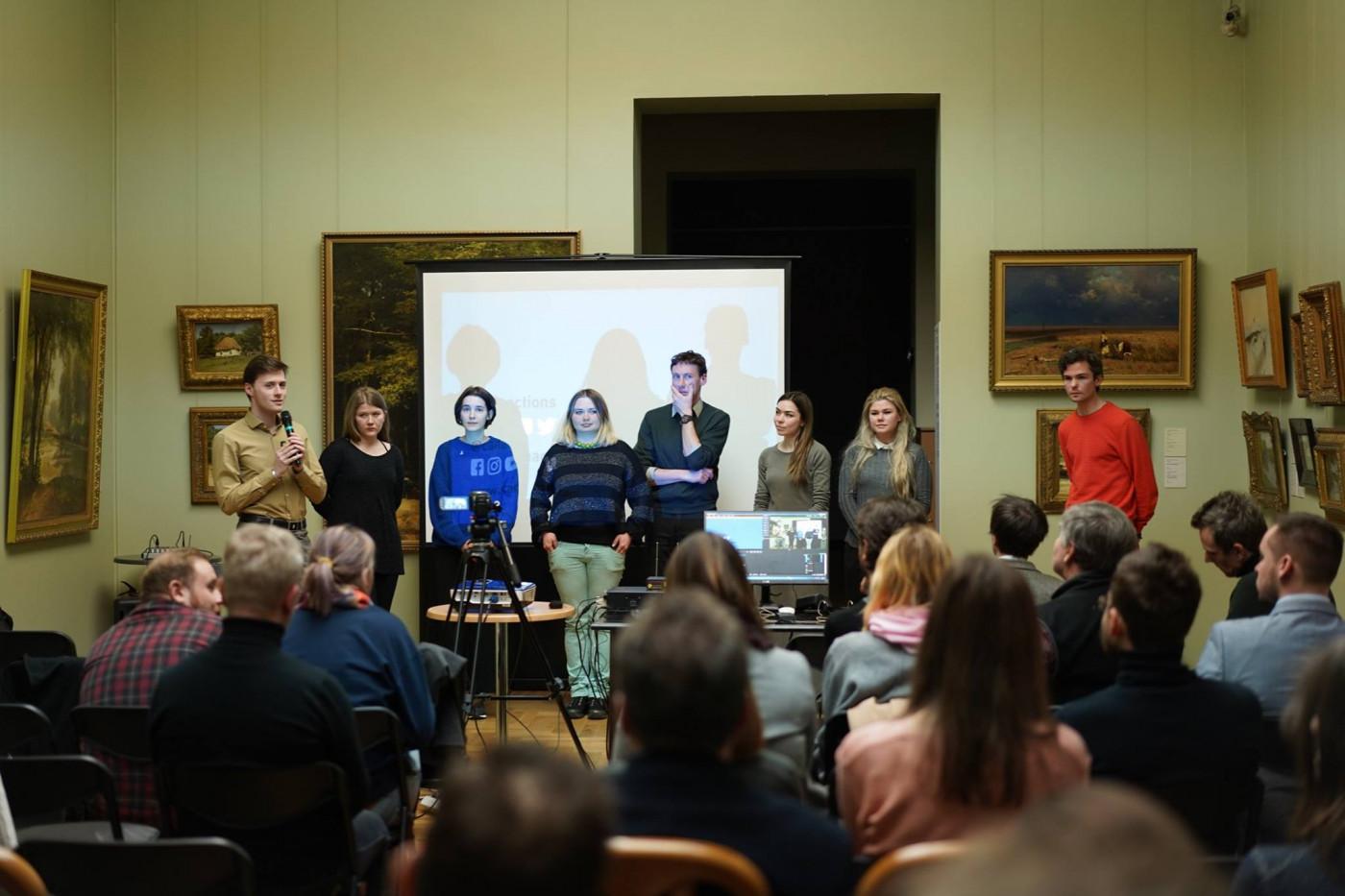 """Презентація учасників СANactions school на лекції """"Співтворення сільських територій"""""""