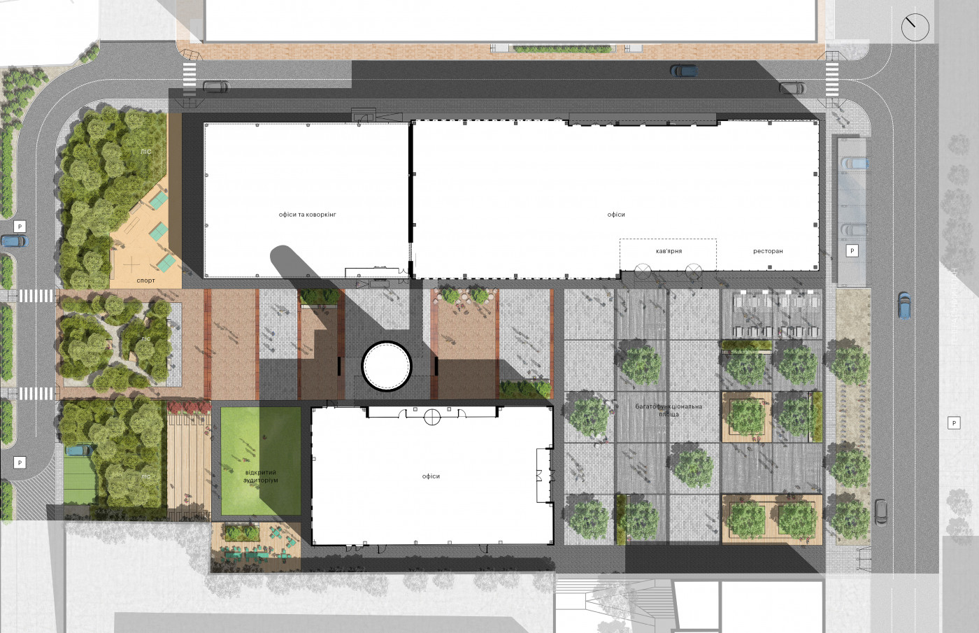 / Event plaza 'UNIT.City'
