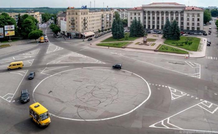 / Концепція реконструкції майданів Соборний та Перемоги
