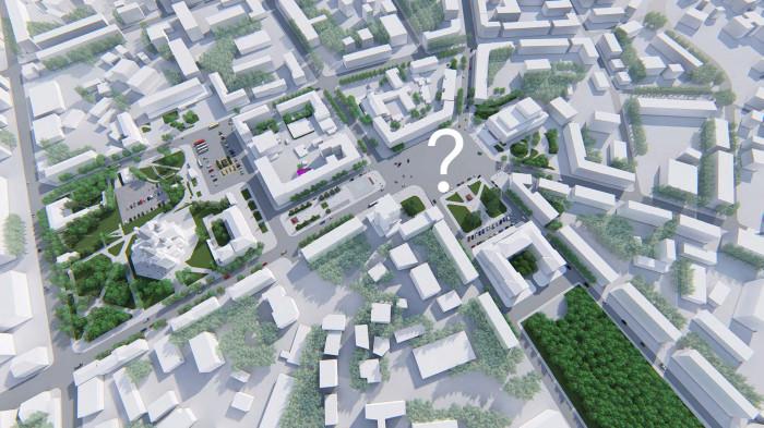 Що робити / Концепція реконструкції майданів Соборний та Перемоги