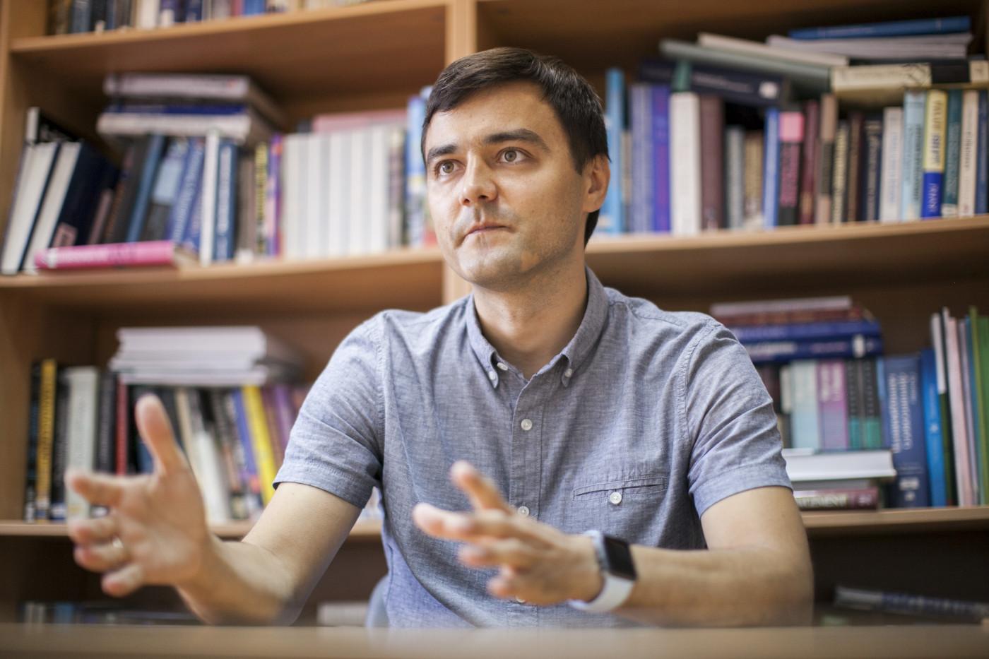 """Максим Коцюба: """"Починати слід з малого: з кола впливу людини, з подвір'я"""""""