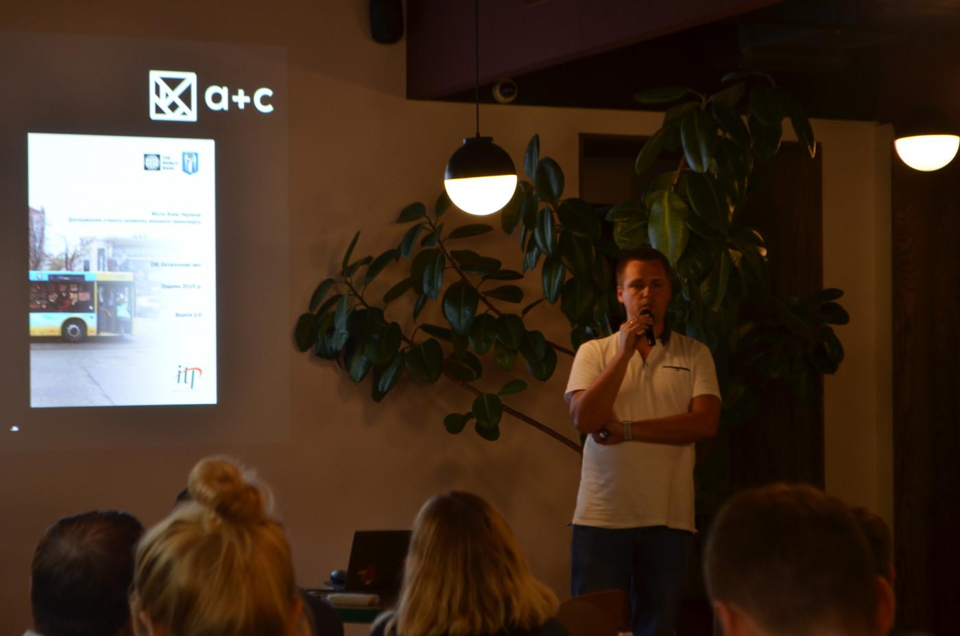 Дмитро Беспалов розказує про транспортну модель Києва.