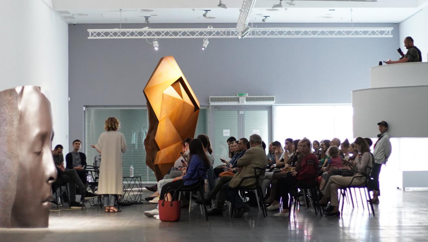 """Дискусія """"Мистецтво в публічному просторі: за та проти"""""""