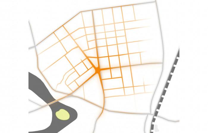 Насправді площа є центром Замостя / Площа Перемоги
