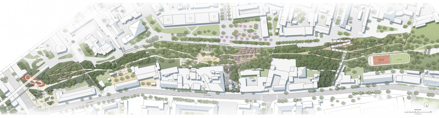 Masterplan / Zhanna's Lyaburb Park