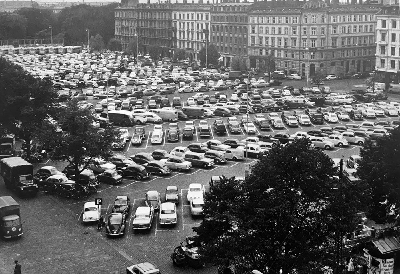 Площа Ізраїлю в Копенгагені в 1961 році