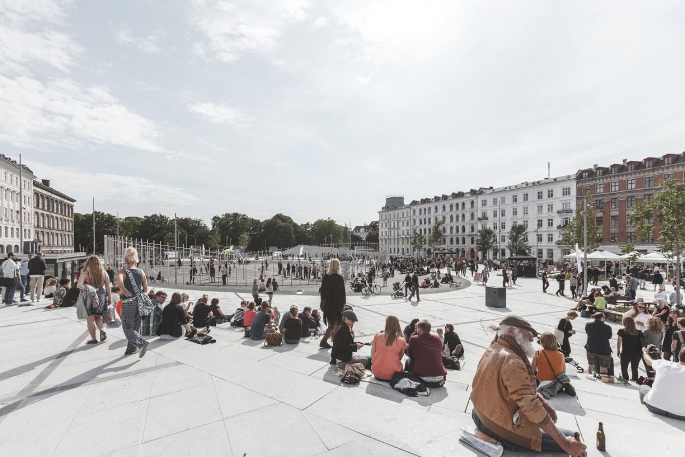 Площа Ізраїлю в Копенгагені в 2017 році