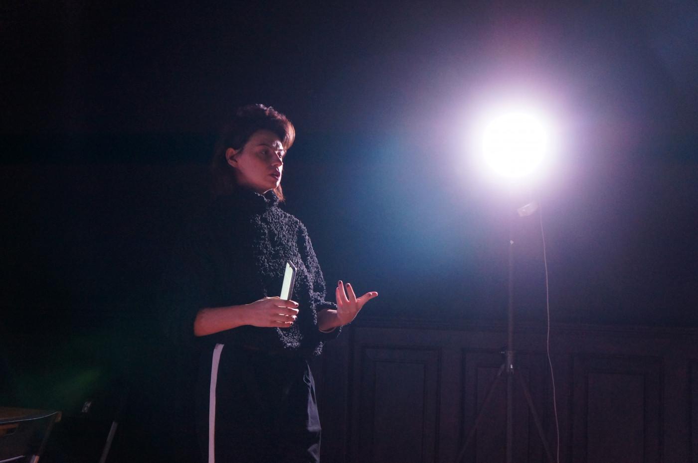 Вікторія Миронюк презентує проект