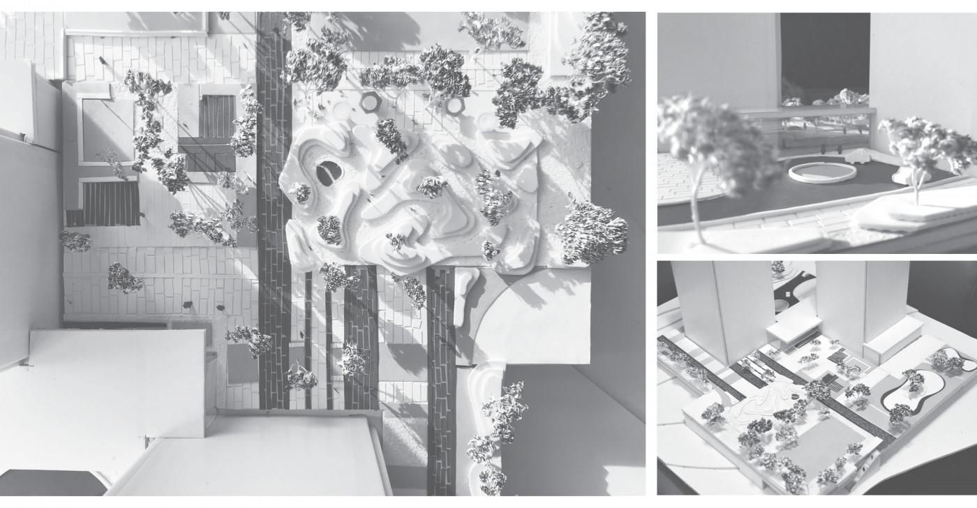 Model / 俄罗斯方块大厅-住宅综合体
