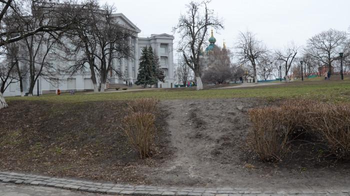 Lawn covering / 斯塔罗基耶夫斯克山