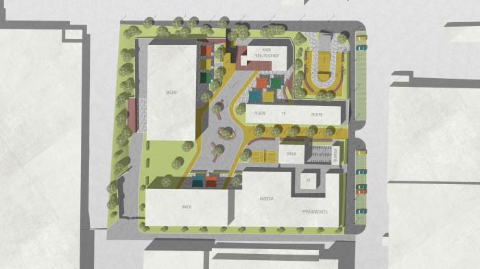 Сподіваємося, що кампус дійсно буде місцем, де людина може почуватись вільно і розвиватись /  创新园区——单位城